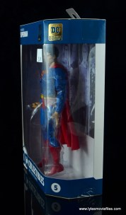 dc essentials superman review - package left side