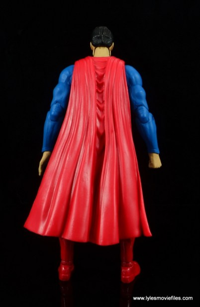 dc essentials superman review - rear