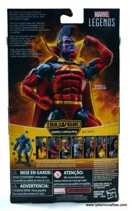 marvel legends gladiator figure review - package rear