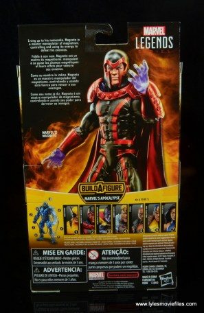 marvel legends magento review -package rear