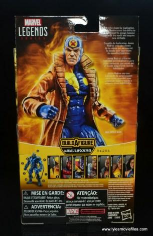 marvel legends multiple man figure review - package rear