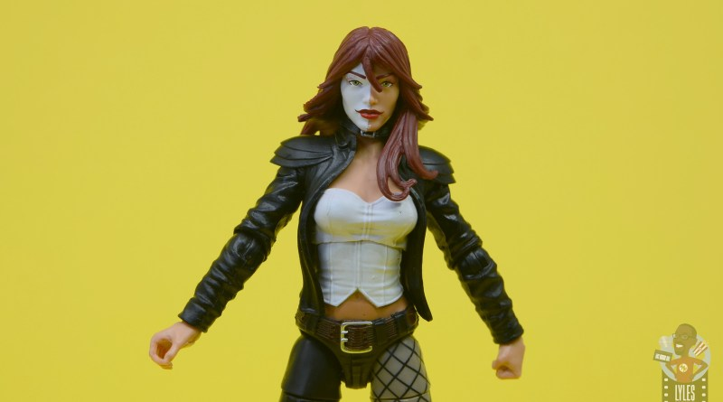 marvel legends typhoid mary figure review - main pic