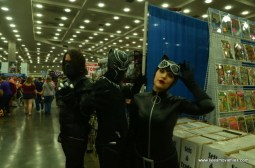 Baltimore Comic Con 2018 cosplay - Winter Soldier, Black Panther and Catwoman