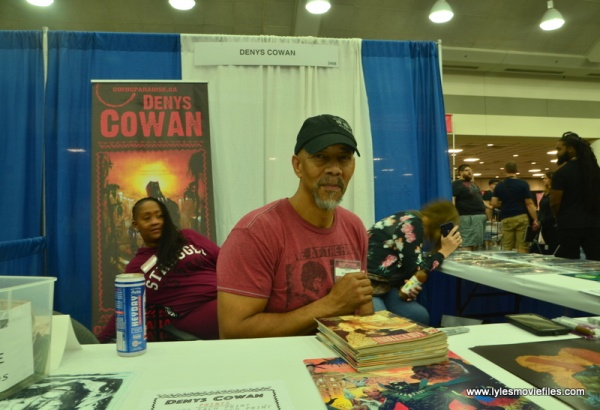 Baltimore Comic Con 2018 creators - Denys Cowan