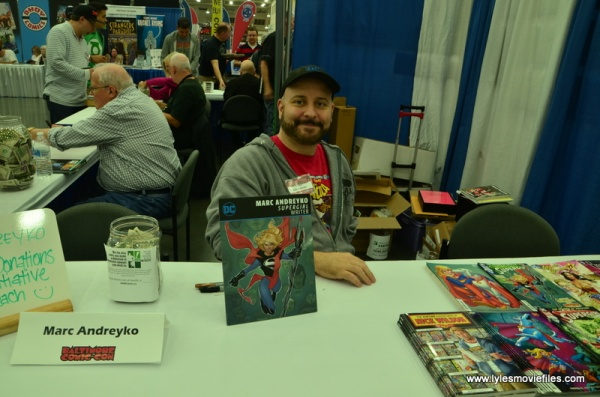 Baltimore Comic Con 2018 creators -Marc Andreyko