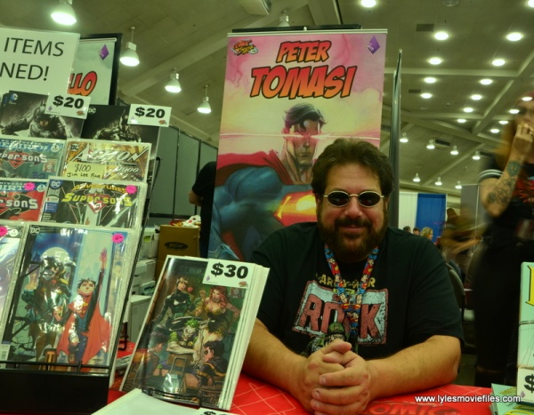 Baltimore Comic Con 2018 creators - Peter J. Tomasi