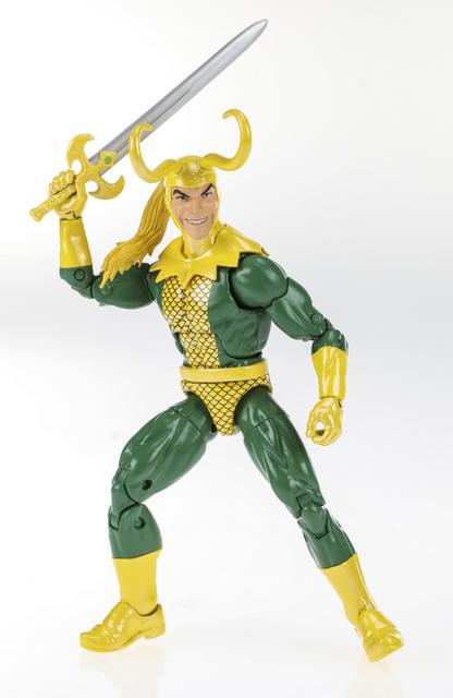 Marvel Legends Series 6-inch Loki Figure (Avengers wave) - Copy