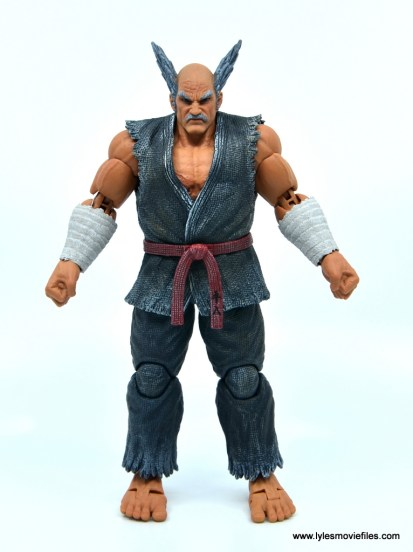 Storm Collectibles Heihachi Mishima figure review -front