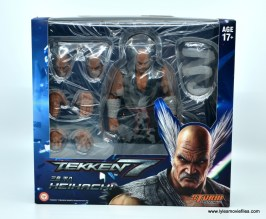 Storm Collectibles Heihachi Mishima figure review -package front