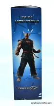 Storm Collectibles Heihachi Mishima figure review - package left side