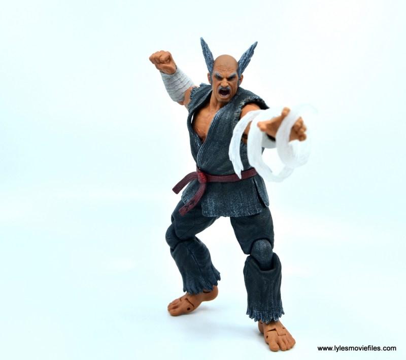 Storm Collectibles Heihachi Mishima figure review -power blast