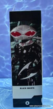 dc essentials black manta figure review -package side