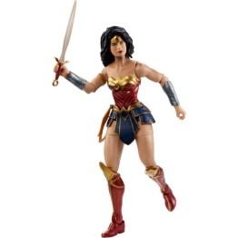 dc multiverse wonder woman figure - battle stance