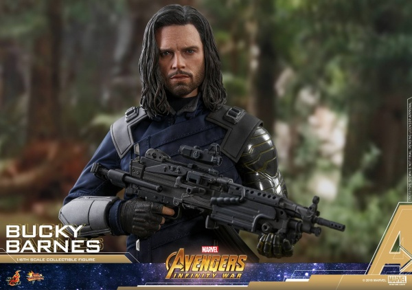 hot toys avengers infinity war bucky barnes figure -main shot