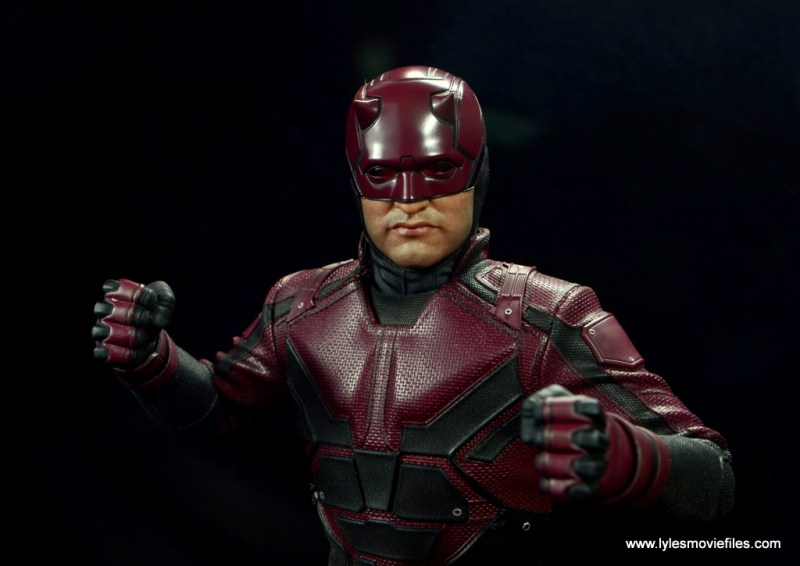 hot toys daredevil figure review - wide shot