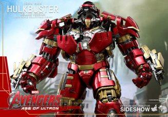 hot toys hulkbuster iron man deluxe version figure - wide open shot