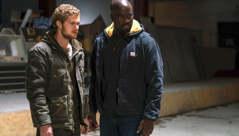 iron fist and luke cage
