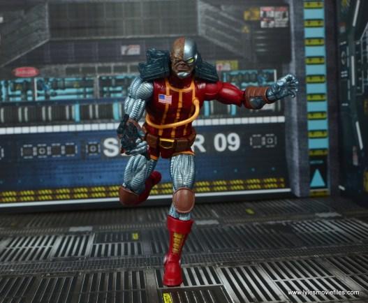 marvel legends deathlok figure review - on the run