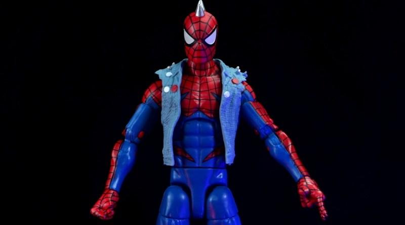 marvel legends spider-punk figure review - main pic