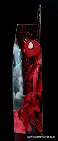 marvel legends spider-punk figure review - package side