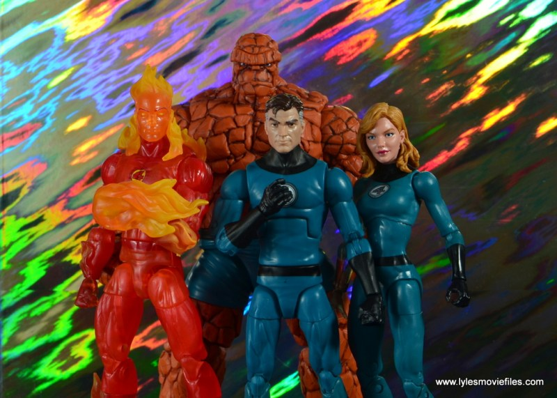 marvel legends the thing figure review - complete fantastic four