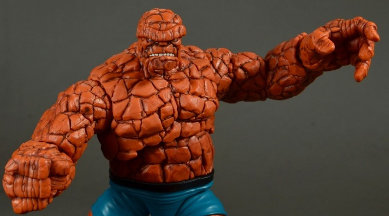 marvel legends the thing figure review - main pic