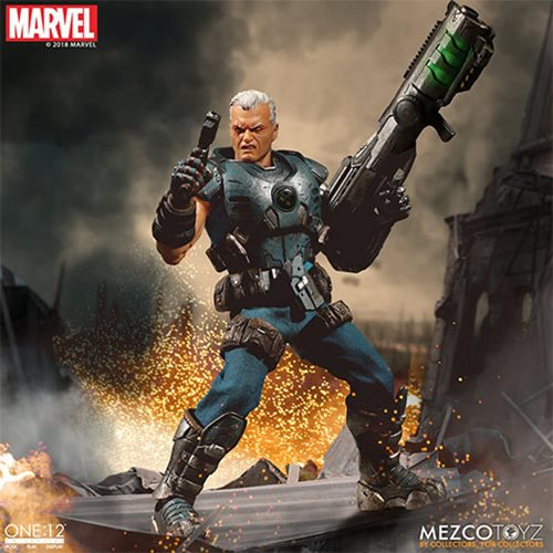 mezco toyz cable: one 12 figure - fully loaded