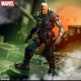 mezco toyz cable one 12 figure - standing on the wreckage
