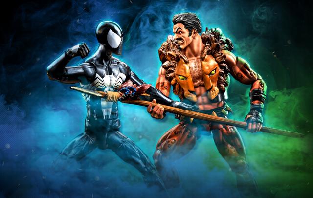 nycc 18 marvel legends Marvel Legends Series 6-inch Kraven & Spider-Man 2-Pack