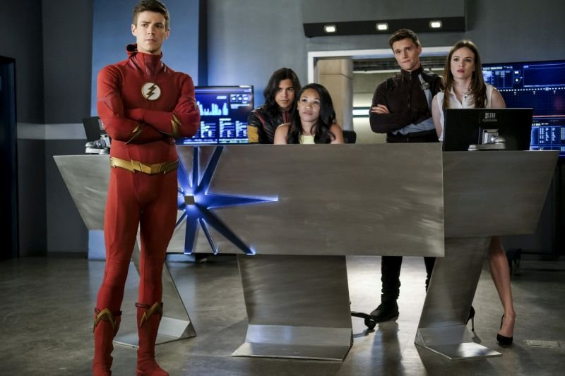 the flash the death of vibe review - team flash
