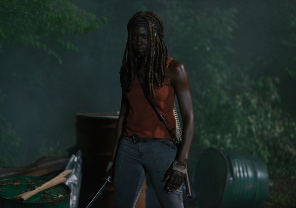 the-walking-dead-the obliged review - michonne