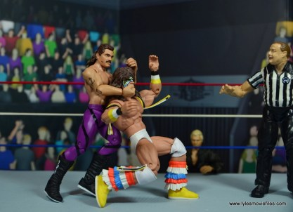 WWE Flashback Basic Rick Rude figure review - sleeper to Ultimate Warrior