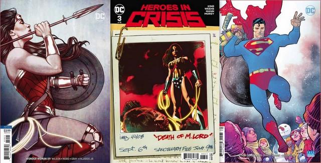 dc comics reviews 11/28/18