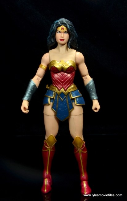 dc multiverse wonder woman figure review - front