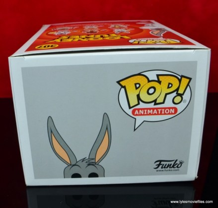 funko pop bugs bunny figure review - package top