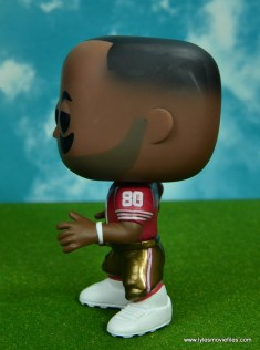 funko pop jerry rice figure review -left side