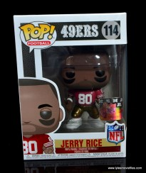 funko pop jerry rice figure review - package front