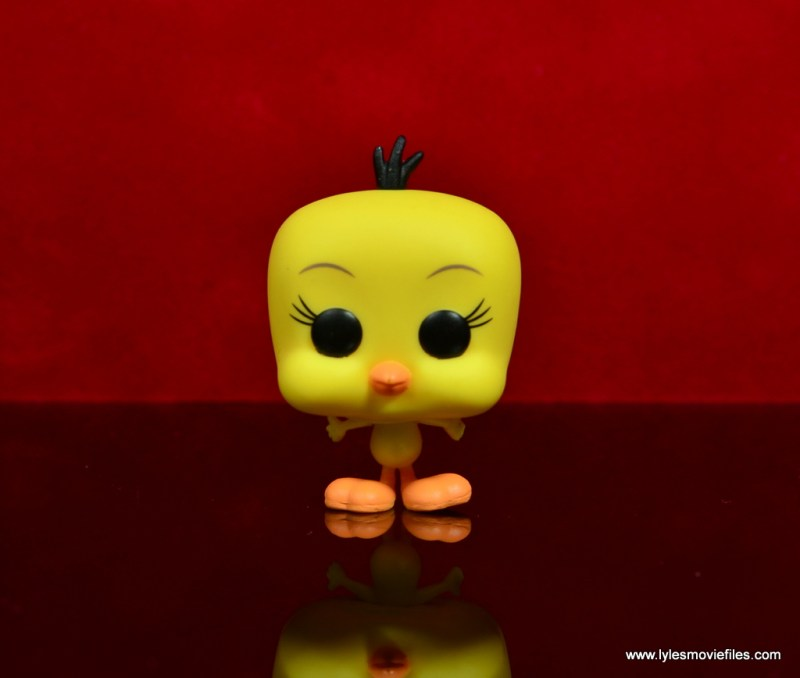funko pop sylvester and tweety figure review -tweety front
