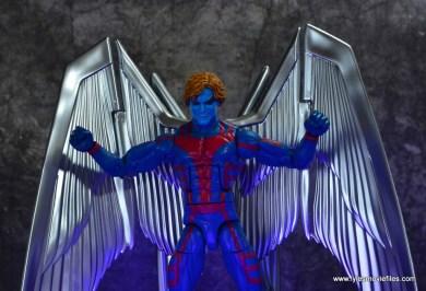 marvel legends archangel figure review - evil head sculpt