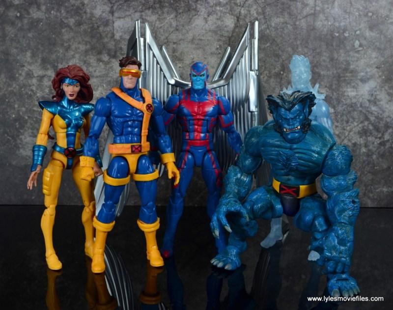 marvel legends archangel figure review - original x-factor
