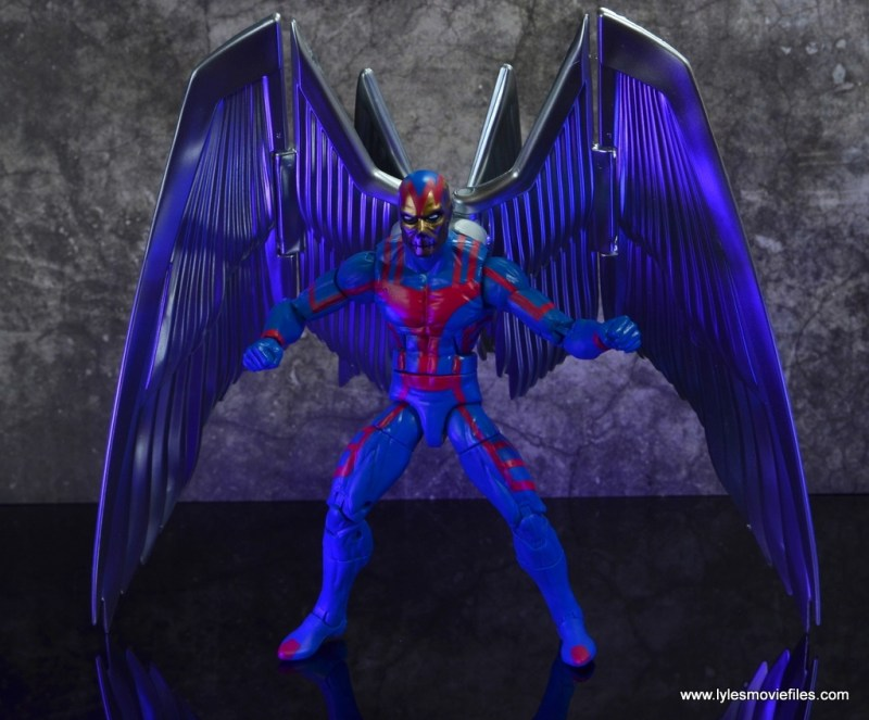 marvel legends archangel figure review - with death mask