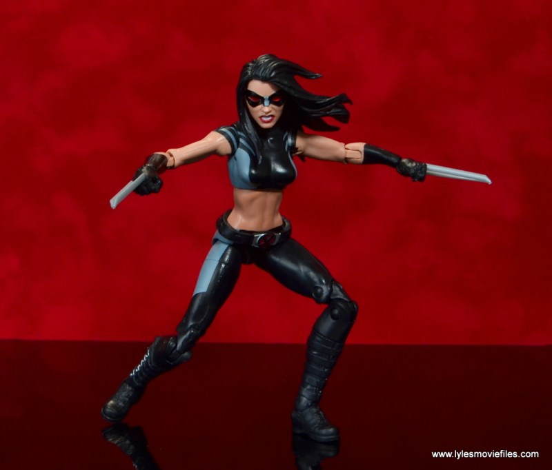 marvel legends x-23 figure review - attack mode