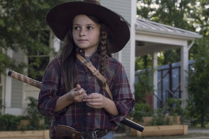the walking dead who are you now review -judith grimes