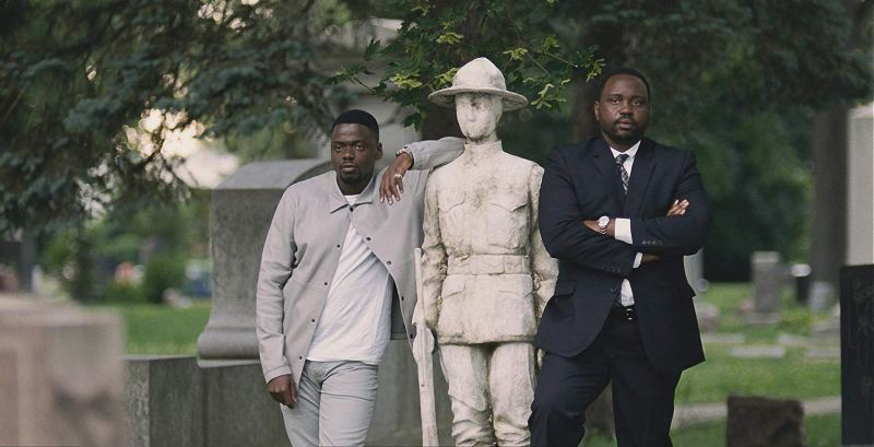 widows movie review - Daniel Kaluuya and Brian Tyree Henry