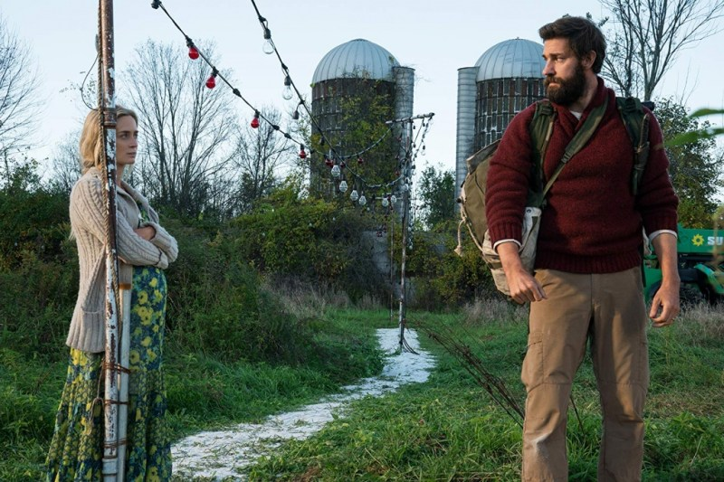 a quiet place review - emily blunt and john krasinski