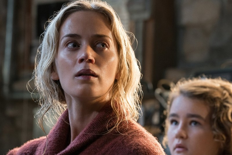a quiet place review - emily blunt and millicent simmonds