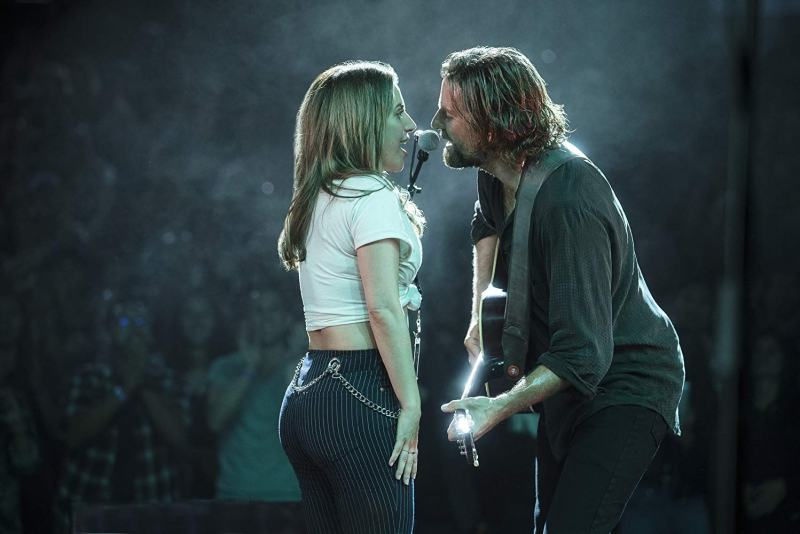 a star is born movie review - lady gaga and bradley cooper