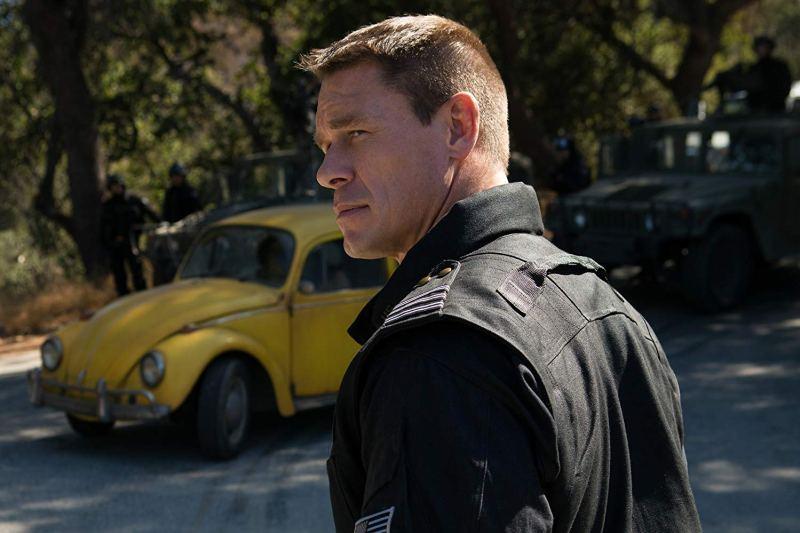 bumblebee movie review -john cena