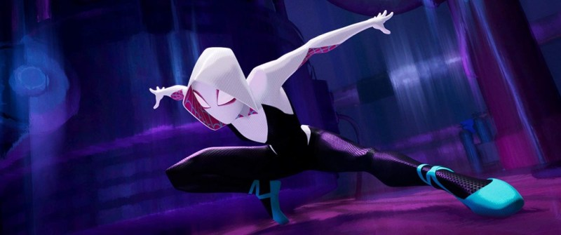 spider-man into the spider-verse review - gwen stacy