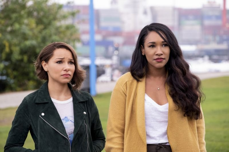 the flash the icicle cometh review -nora and iris